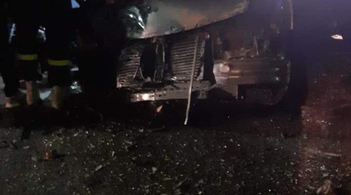 الدفاع المدني: 4 جرحى اثر حادث سير في فيطرون بكسروان