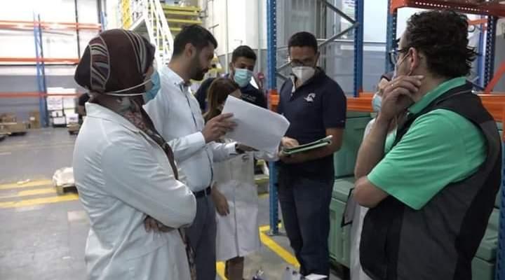 بلدية الغبيري واصلت جولاتها على مستودعات الأدوية والصيدليات