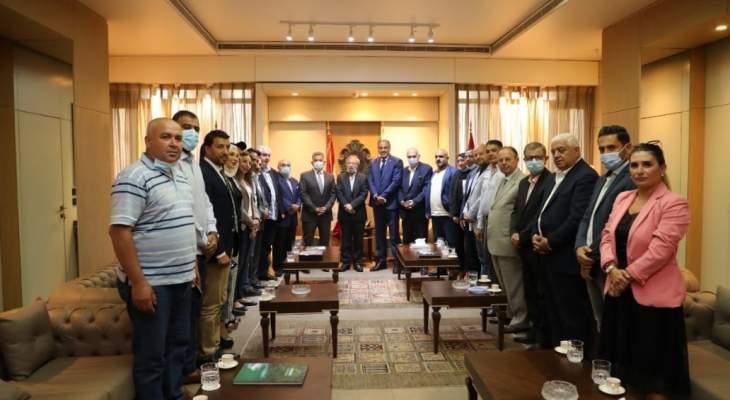 اللواء ابراهيم: زيارتي مع وزير الطاقة الى العراق تهدف لانجاز مسألة تزويد لبنان بالنفط