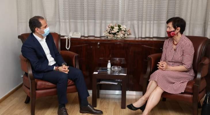 الجميل التقى فرونتسكا: للضغط باتجاه تأمين إشراف دولي على الانتخابات صونا للديمقراطية