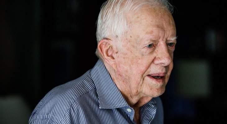 إدخال الرئيس الأميركي الأسبق جيمي كارتر إلى المستشفى مجددا