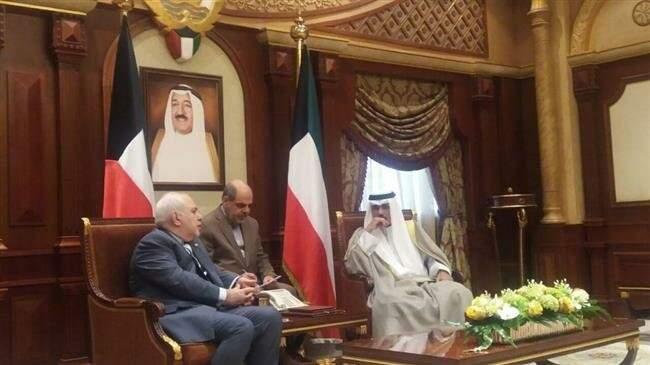 ظريف لولي عهد الكويت: نحن وأنتم باقون في المنطقة والغرباء سيرحلون عنها