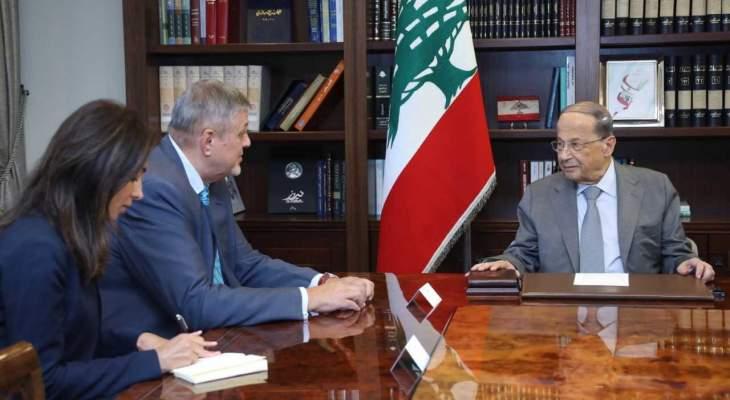 الرئيس عون: ماذا يمنع المجتمع الدولي من دعم مطلبنا بعودة النازحين الى المناطق الآمنة بسوريا