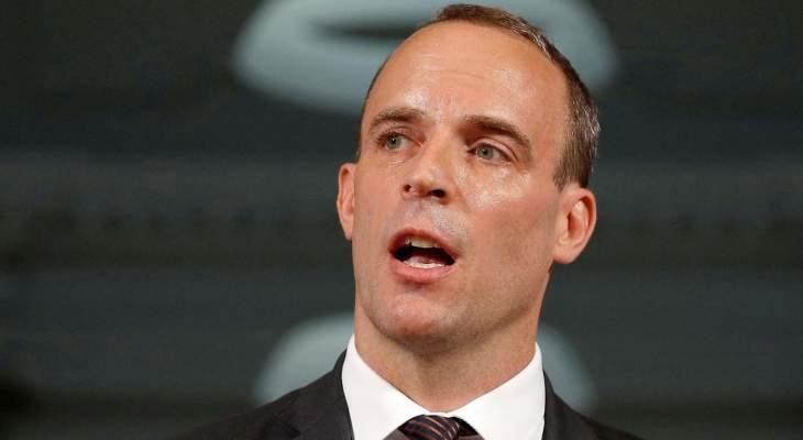 وزير خارجية بريطانيا: سنغادر الاتحاد الأوروبي بنهاية تشرين الأول ونريد توسيع آفاقنا