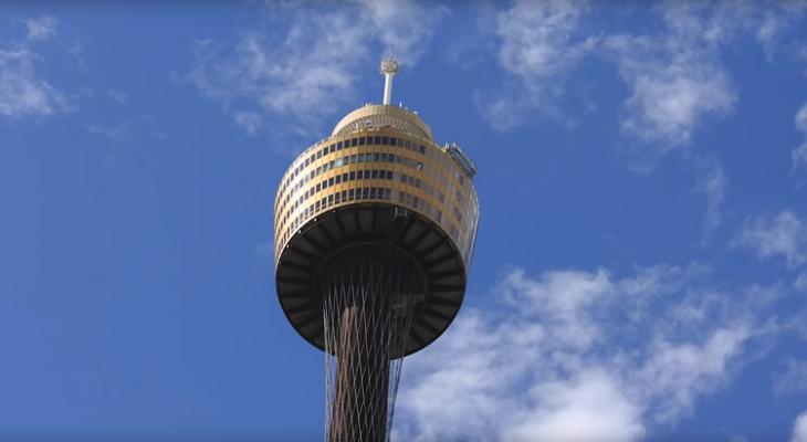 إغلاق برج سيدني الشهير بعد سقوط رجل ومقتله