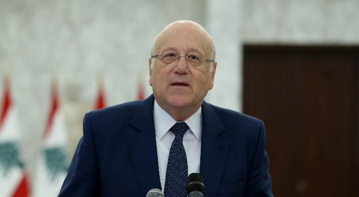 """ميقاتي: """"اللي بدو يعطّل يطلع برّا"""" وكتلة """"لبنان القوي"""" حتما ستمنح الحكومة الثقة"""