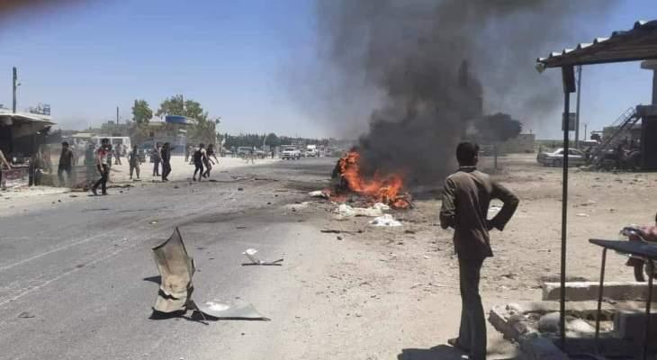 المرصد السوري: مقتل شخصين وإصابة 4 آخرين في انفجار سيارة ملغمة بريف عفرين