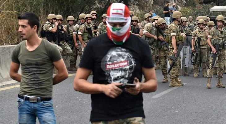 عناصر الجيش غادرت منطقة جل الديب
