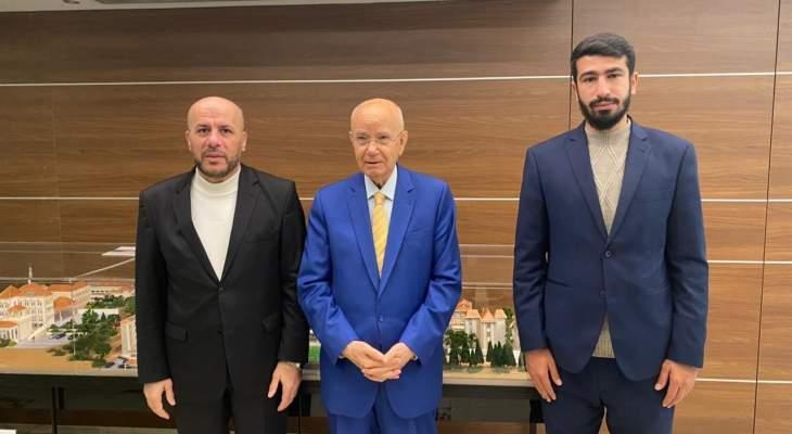 ممثل حماس التقى رئيس حزب الاتحاد وبحث معه أوضاع الفلسطينيين في لبنان