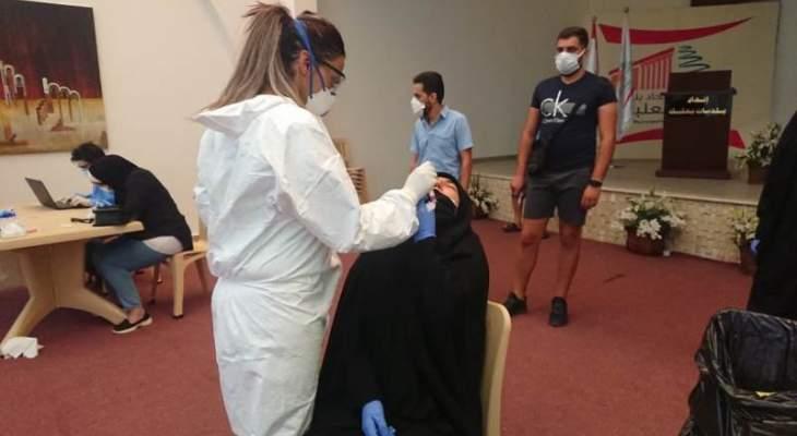"""فرق وزارة الصحة أجرت 30 فحص """"PCR"""" لمصابين بكورونا ومخالطين في بعلبك"""