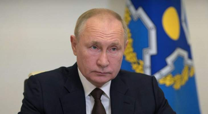 بوتين: الإرهابيون من العراق وسوريا ينتقلون إلى أفغانستان والأمر يحتاج لمراقبة الحدود