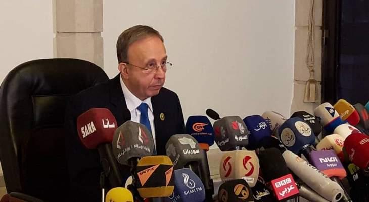 رئيس المحكمة الدستورية السورية يعلن اسماء المرشحين النهائيين لإنتخابات الرئاسة