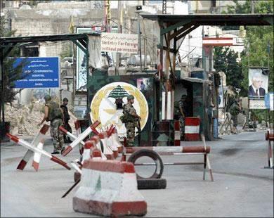 النشرة:مقتل عنصر من جند الشام باطلاق نار من عناصر فتح في عين الحلوة