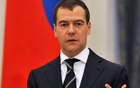 ميدفيديف: اننا بحاجة إلى موقف موحد مناهض للإرهاب