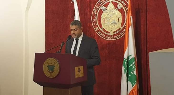 غياض: مساعي الراعي لم تتوقف لحل الازمة اللبنانية والعلاقة بين بكركي وبعبدا جيدة