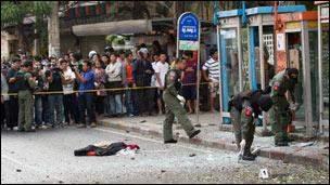 رويترز: ارتفاع عدد ضحايا تفجير بانكوك إلى 27 قتيلا بينهم 4 أجانب
