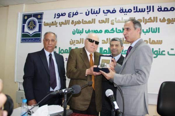 شرف الدين: لا تدهور لليرة اللبنانية لا مبرر لخفض تصنيفها الائتماني