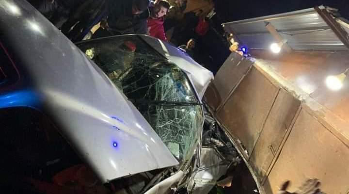 النشرة: جريح جراء حادث سير على طريق عام المنارة
