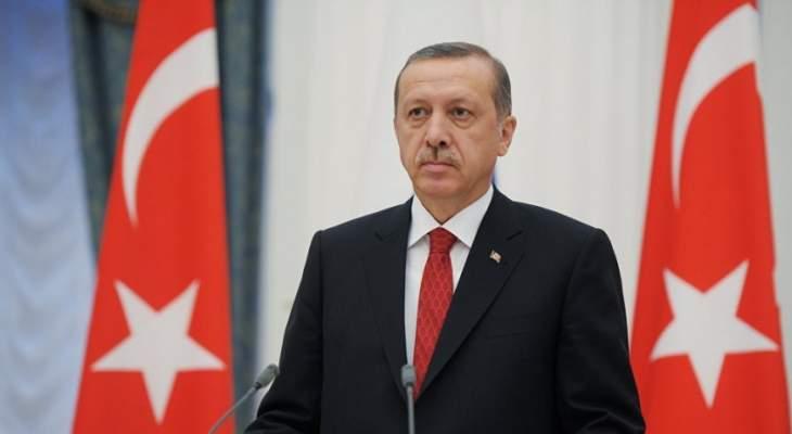 رجب طيب أردوغان: سنقف بكل حزم مع حكومة الوفاق الوطني