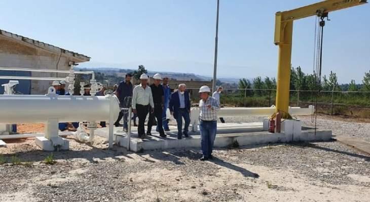 وزارة النفط السورية: فريق سوري لبناني مشترك بدأ الكشف على خط الغاز العربي