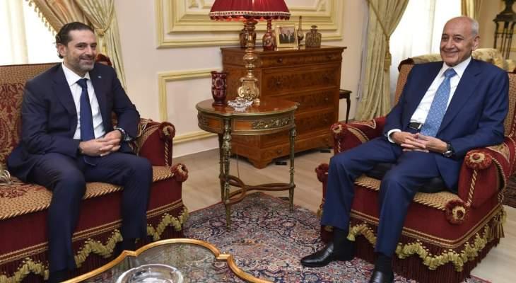 LBCI: الحريري أبلغ بري أنه يعطي تشكيلة الـ24 وزيرا فرصة أخيرة وإذا لم تُقبل سيعتذر
