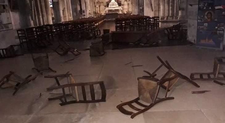 مدعي عام فرنسا:4 ضباط واجهوا المهاجم في كنيسة نيس وأطلقوا النار عليه