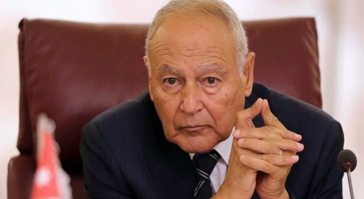 أبو الغيط: تصريحات وهبة بعيدة عن اللياقة الدبلوماسية وأسهمت بتوتير العلاقة اللبنانية الخليجية