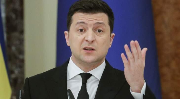 رئيس أوكرانيا طالب بضم بلده إلى حلف شمال الأطلسي والاتحاد الأوروبي