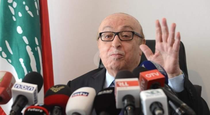 أبو جمرا: البلد لا يتحمّل رئيساً للجمهورية متموضعاً في المحور الإيراني