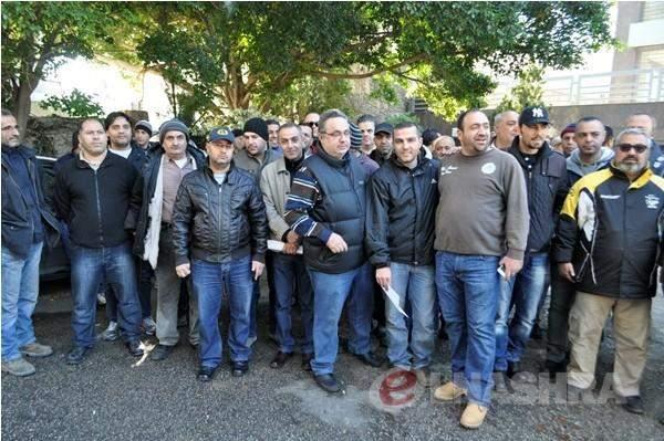 مياومو كهرباء لبنان طلبوا من شركةKVA سحب الإشعارات التعسفية بحق العمال