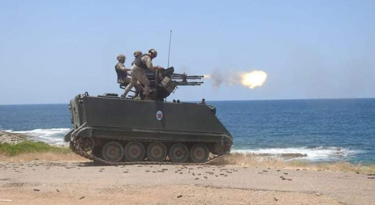 اليونيفيل: اختتام تدريب العاصفة الفولاذية بالذخيرة الحية مع القوات المسلحة اللبنانية