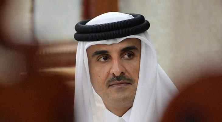 أمير قطر عن وقاة مرسي: تلقينا ببالغ الأسى نبأ الوفاة المفاجئةا