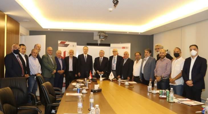 عدوان زار جمعية الصناعيين: للمراهنة على الصناعة اللبنانية من خلال شراء المنتجات الوطنية