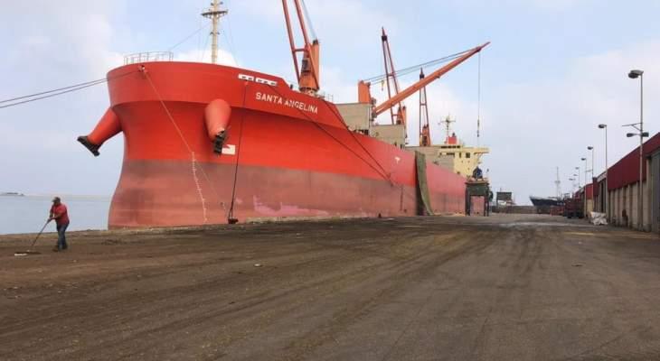 مكتب نجار: السفينة Rimar غادرت مرفأ طرابلس صباح اليوم