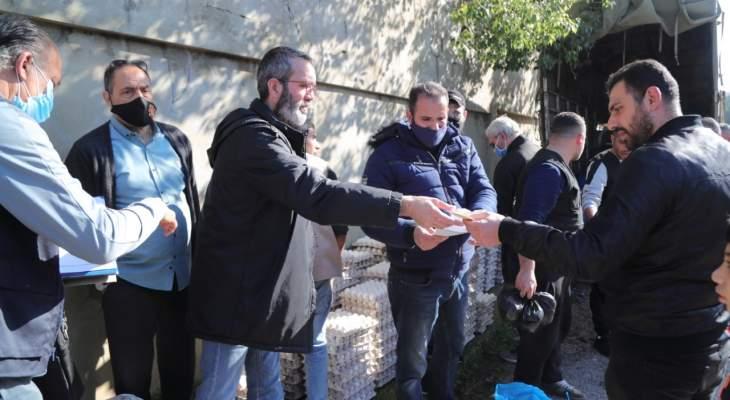 بدر أوعز لمكتب خدماته الاجتماعية بتوزيع المساعدات العاجلة لأهل طرابلس