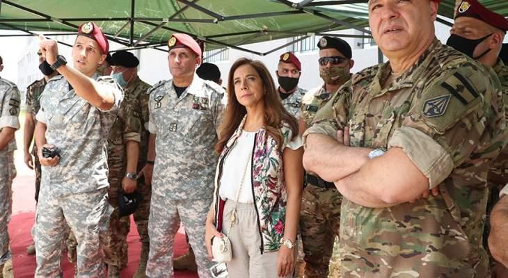 عكر من قاعدة حامات الجوية: نحن إلى جانب قيادة الجيش التي نثق بها بمرحلة بناء الدولة
