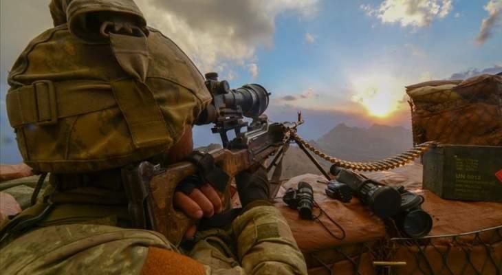 """الدفاع التركية: مقتل إرهابيين من تنظيم """"بي كا كا"""" شمال سوريا"""