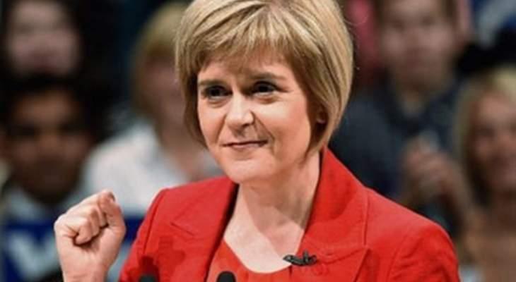 ستورجن: متيقّنة أكثر من أي وقت مضى أن اسكتلندا ستحصل على الاستقلال