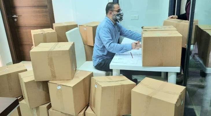 جمعية من حقي الحياة وزعت مستلزمات طبية على مستشفى سيدة المعونات وعدد من مستوصفات جبيل