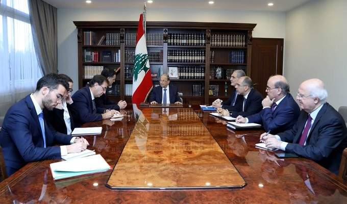 الرئيس عون تلقى رسالة من ماكرون تؤكد اهتمام فرنسا بالوضع بلبنان واستعدادها لمساعدته