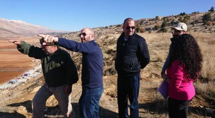 جريصاتي زار المحمية الطبيعية في بلدة اليمونة ومطرانية دير الأحمر