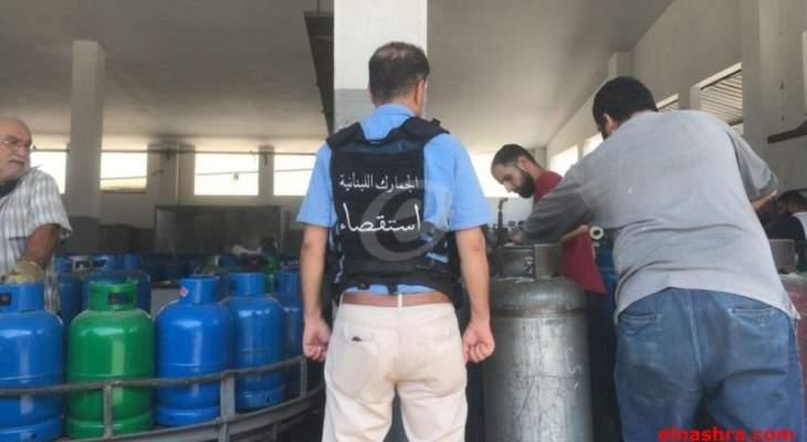 النشرة: قوة من استقصاء الجمارك- ضابطة صيدا أجبرت بعض محطات الغاز على بيع مخزونها