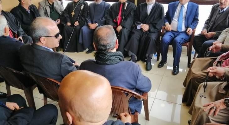 اللقاء التشاوري في بعلبك الهرمل استنكر الحملة الإعلامية على الشيخ عبد الأمير قبلان