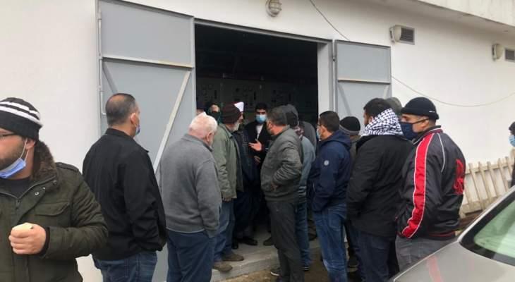 النشرة: اعتصام بجب جنين احتجاجاً على اعطاء الكهرباء من محطة البلدة لمستشفى راشيا الحكومي