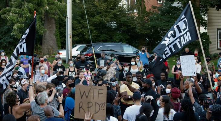 توقيف 8 أشخاص في سياتل الأميركية بعد احتجاجات مناهضة للعنصرية