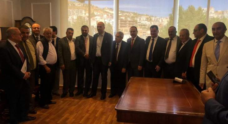 وزير الزراعة الاردني زار غرفة زحلة: نتطلع نحو الامال المشتركة والمستقبل الافضل للبنان والاردن
