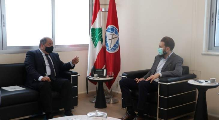 تيمور جنبلاط ناقش مع المجلس الاقتصادي الاجتماعي اقتراحات لمواجهة الأزمة