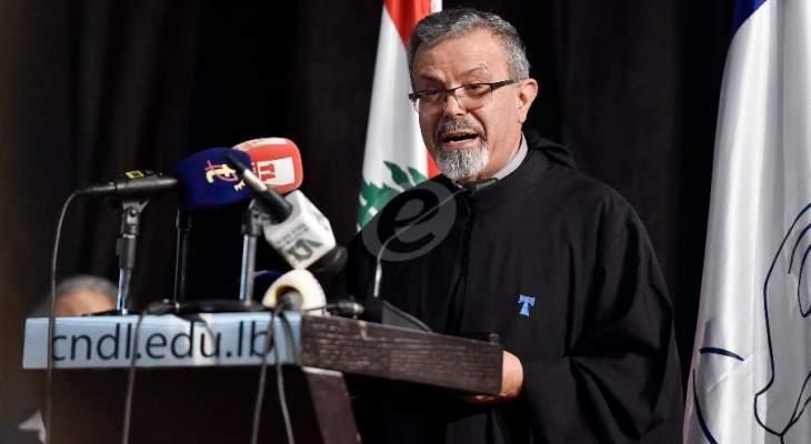 الأب بطرس عازار: لا يجوز أن يحكم على كل المدارس بسبب بعض المؤسسات التربوية