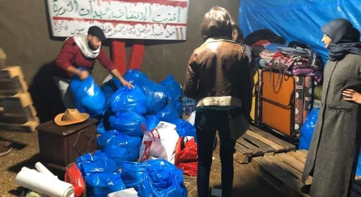 النشرة: حراك صور يستقبل تبرعات من المواطنين لتوزيعها على المحتاجين