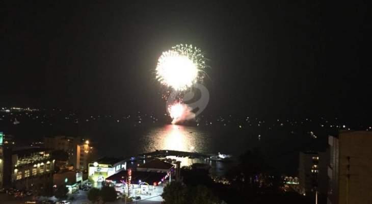 بلدية ميمس أطلقت مهرجانها السنوي الأول بحضور حشد من الفعاليات